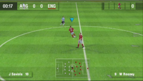 PSP demo disc vol. 1 - World Tour Soccer