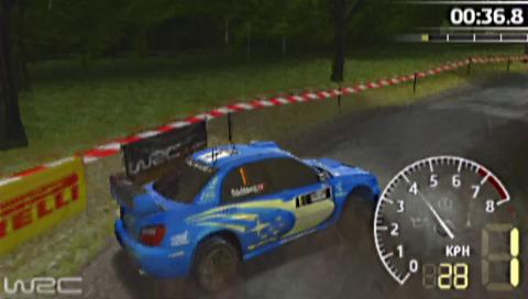 PSP demo disc vol. 1 - World Rally Championship