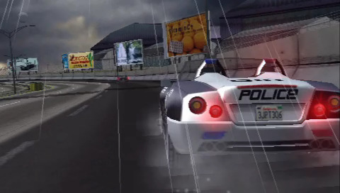 PSP demo disc vol. 1 - Pursuit Force