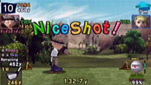 PSP demo disc vol. 1 - Everyody's Golf
