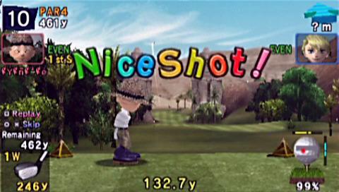 PSP demo disc vol. 1 - Everyody's Golf