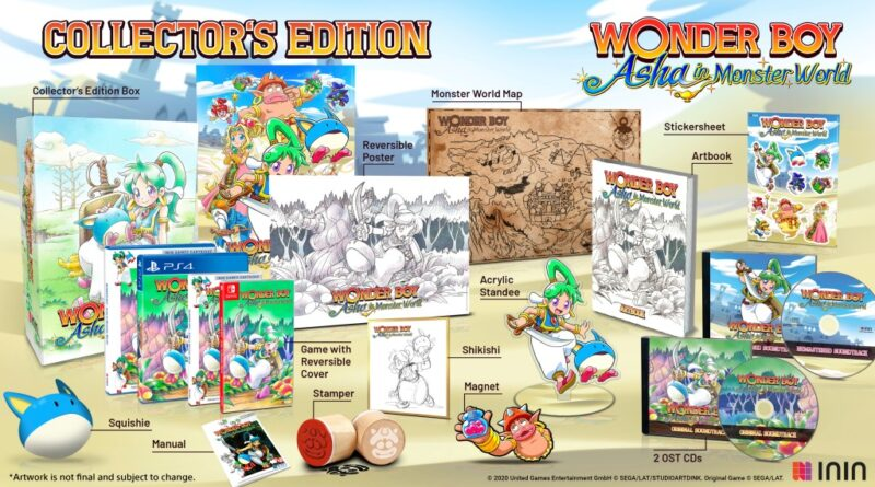 Wonder Boy: Asha in Monster World promo