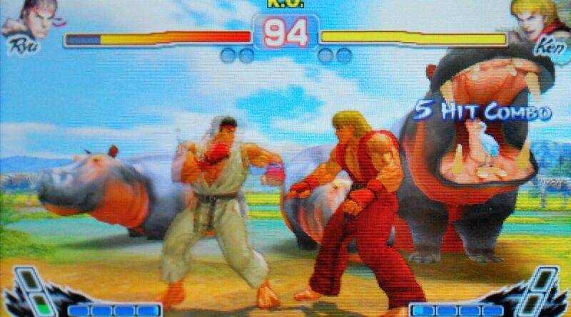 Super Street Fighter IV - 3D Edition (Nintendo 3DS, 2011)