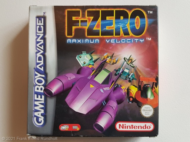 Game Boy Advance: F-Zero – Maximum Velocity