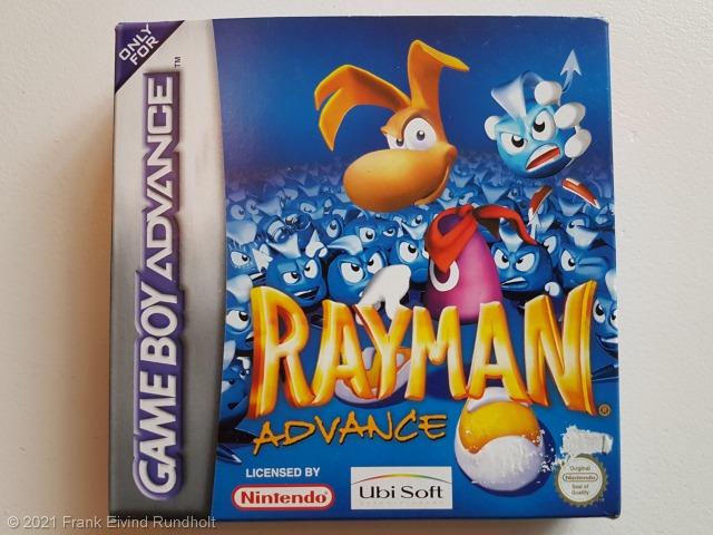 Game Boy Advance: Rayman Advance