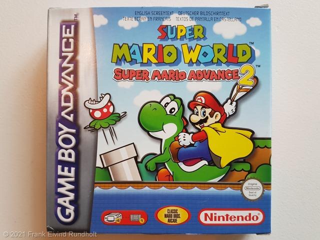 Game Boy Advance - Super Mario World – Super Mario Advance 2