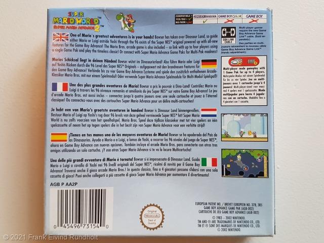 Game Boy Advance: Super Mario World – Super Mario Advance 2