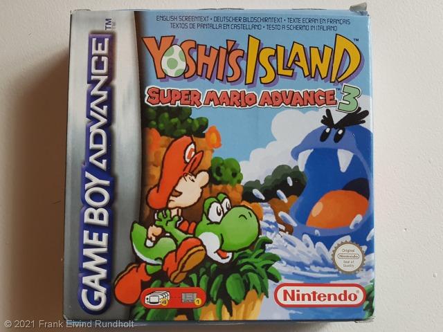 Game Boy Advance: Yoshi's Island – Super Mario Advance 3
