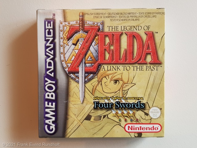 Game Boy Advance: The Legend of Zelda – A Link To the Past