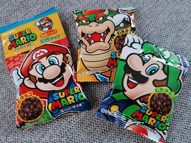 Japansk godteri fra Neo Tokyo