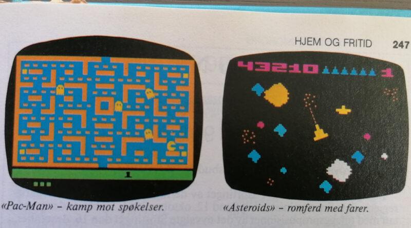 Hvem Hva Hvor 1983 - Videospill - ny hjemmeunderholdning