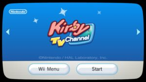 Kirby TV Channel (Wii, 2011)