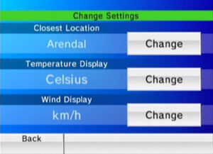 Wii Forecast Channel