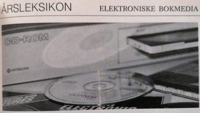 Hvem Hva Hvor 1992 - Elektroniske bokmedia