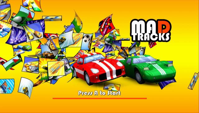 Mad Tracks (Xbox 360, 2007)