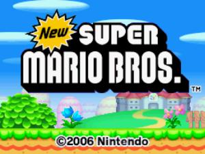 New Super Mario Bros. (Nintendo DS, 2006)