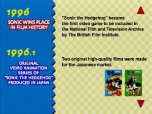 Hall of Fame - Sonic Jam (Sega Saturn, 1997)