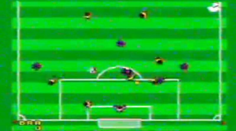 Italia'90 (Sega Master System, 1990) [youtube anmeldelse 2006]