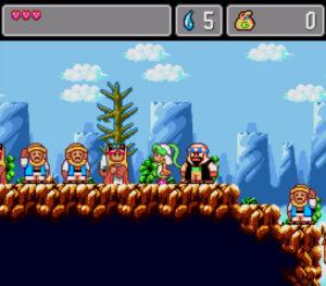 Monster World IV (Mega Drive, 1994) [Playstation 4]