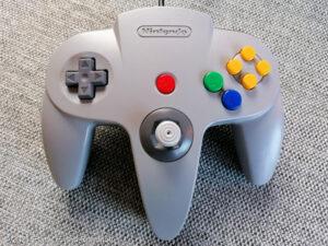 Nintendo 64 - Kontroller
