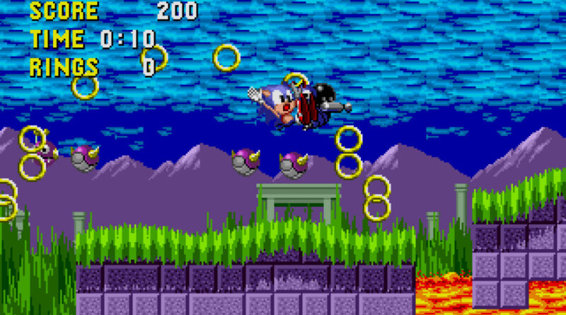 Sonic the Hedgehog (1991) - Tilbakeblikk