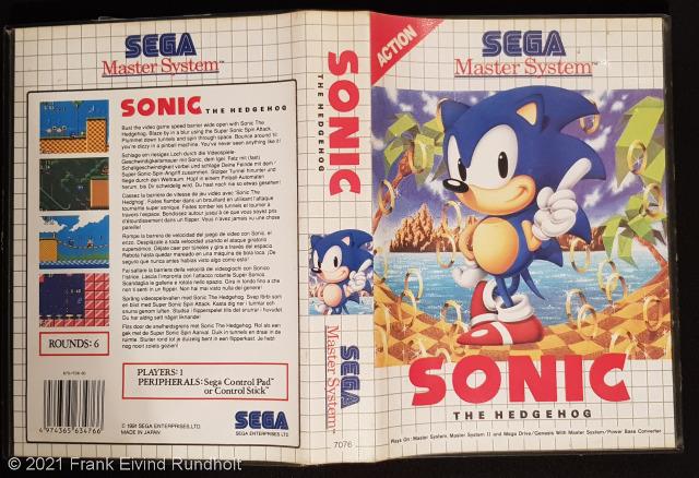 Sonic the Hedgehog (1991) - Sega Master System
