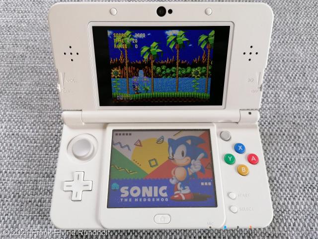 3D Sonic the Hedgehog (2013) - Nintendo 3DS