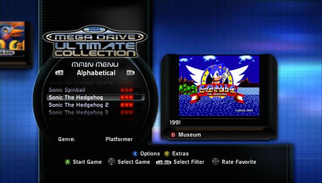 Sega Mega Drive Ultimate Collection (2009) - Xbox 360