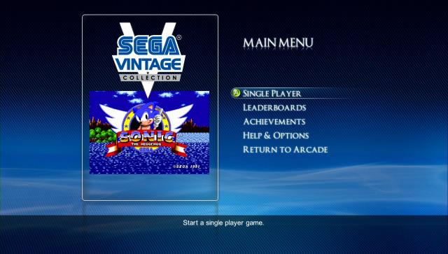 Sega Vintage Collection (2007) - Xbox Live Arcade/Xbox 360