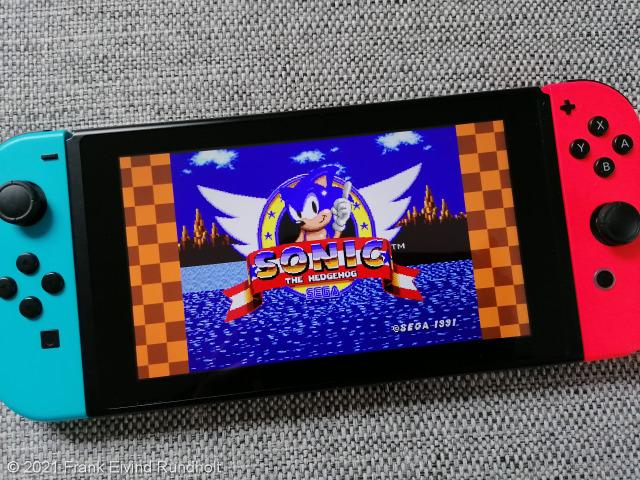 Sega Mega Drive Classics (2018) - Nintendo Switch