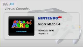 Super Mario 64 - Wii U Virtual Console