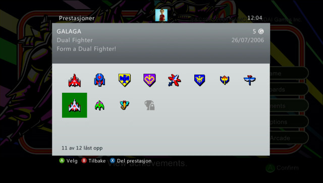 Galaga (Xbox 360, 2006)