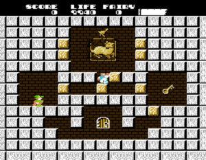 Solomon's Key (NES/Famicom, 1986)
