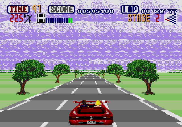 Out Run (Mega Drive, 1991)