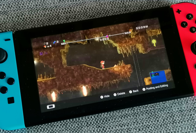 Spelunker HD Deluxe (Nintendo Switch, 2021)
