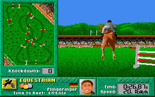 Summer Challenge (Sega Mega Drive, 1993)