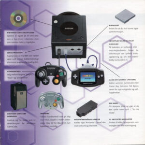 Nintendo GameCube booklet (2002, Norwegian)