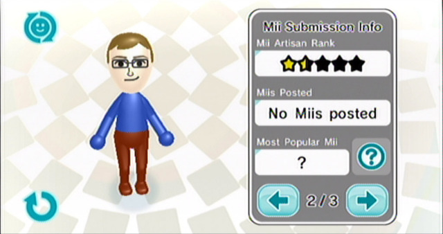 Mii Contest Channel (Wii, 2007)