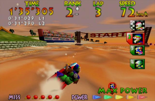 Wave Race (Nintendo 64, 1996)